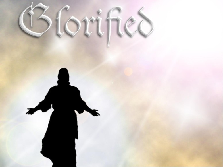 Glorified with Jesus Silhouette