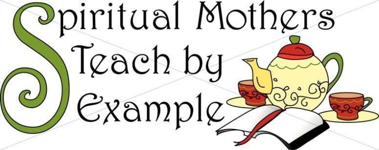 Spiritual Mothers with Tea Pot