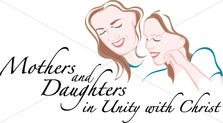 Mother and Daughter in Unity