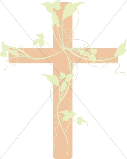 Cross with Vines