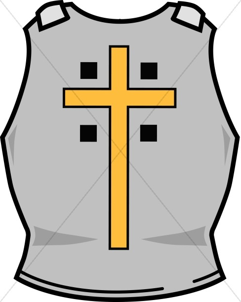Breastplate Of Righteousness With Cross
