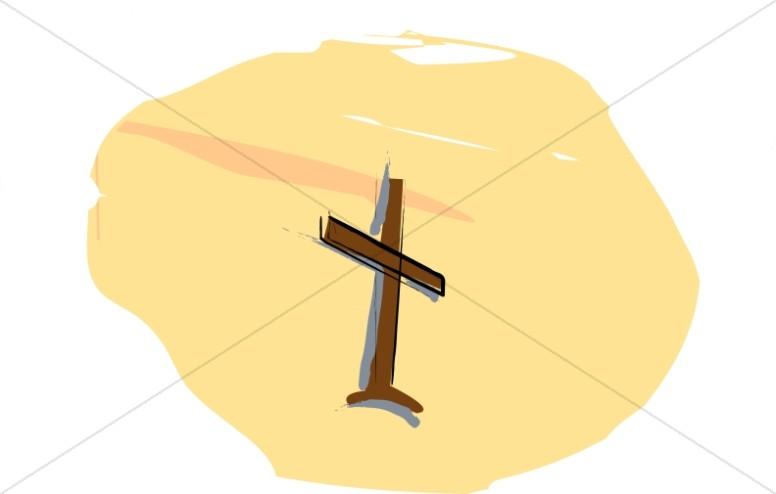 Cross in Yellow