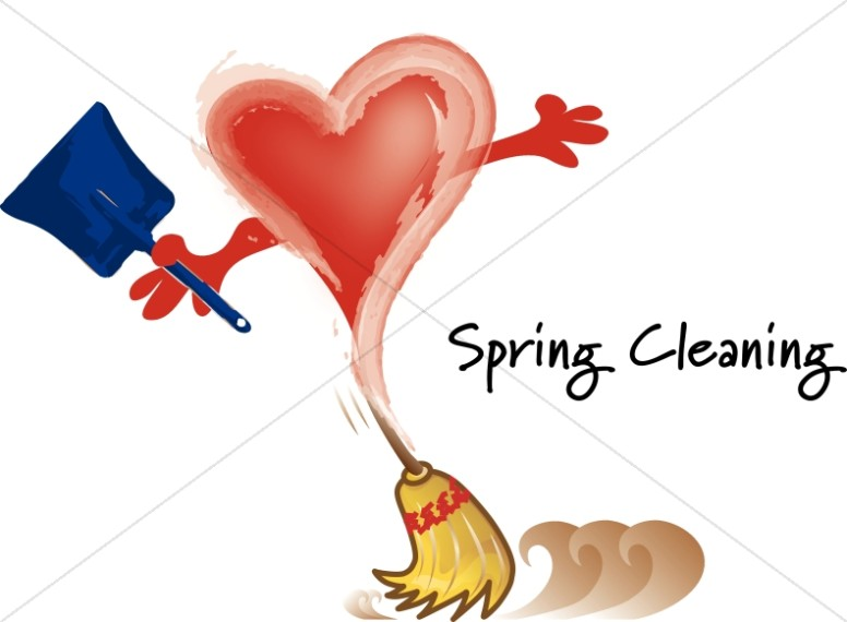 Heart for Spring Cleaning