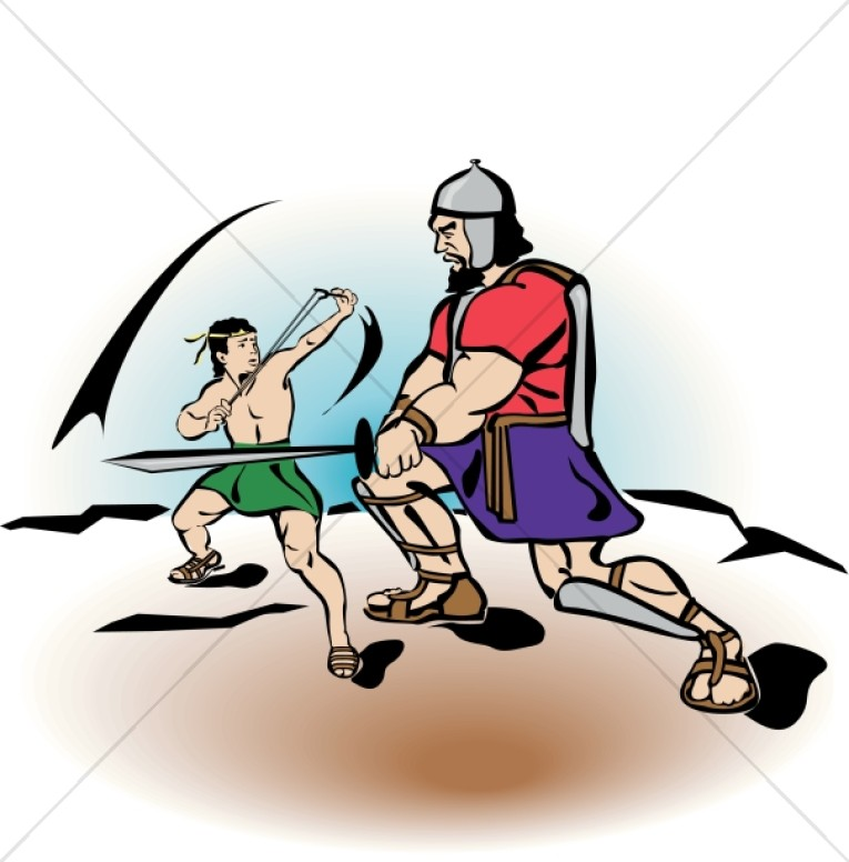 david battles goliath childrens church clipart rh sharefaith com David and Goliath Printables David and Goliath Animation