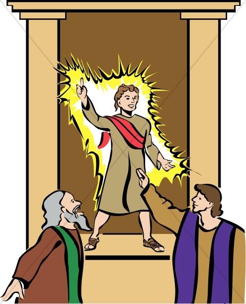 Boy Jesus Teaching