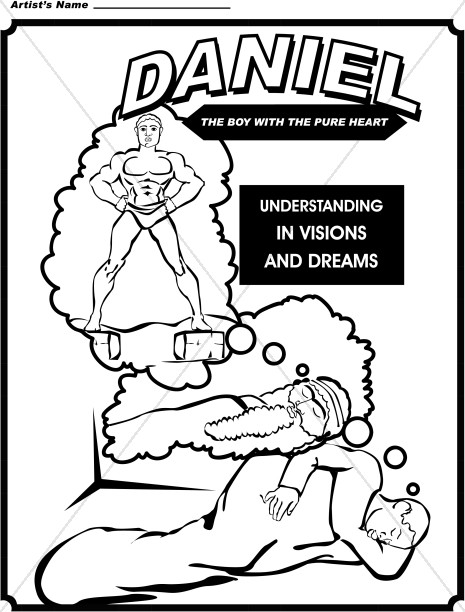 Daniel coloring page for Nebuchadnezzar coloring page