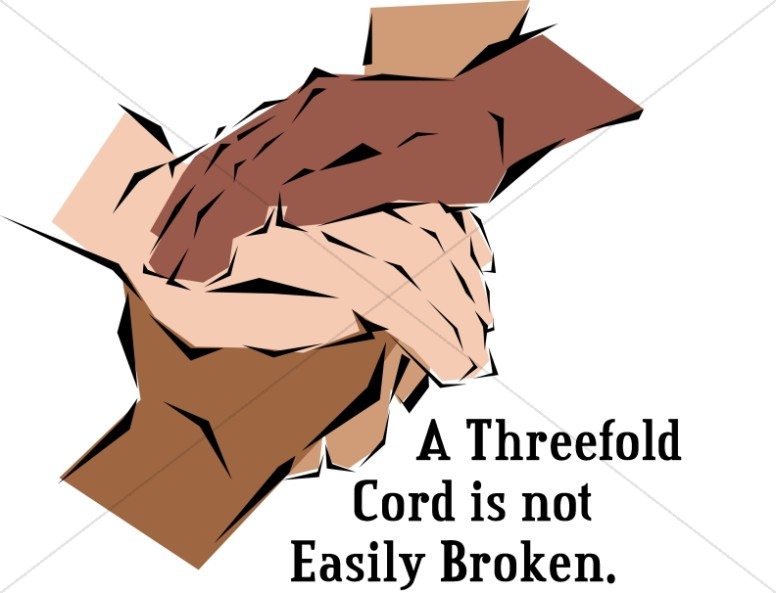 Hands as Threefold Cord