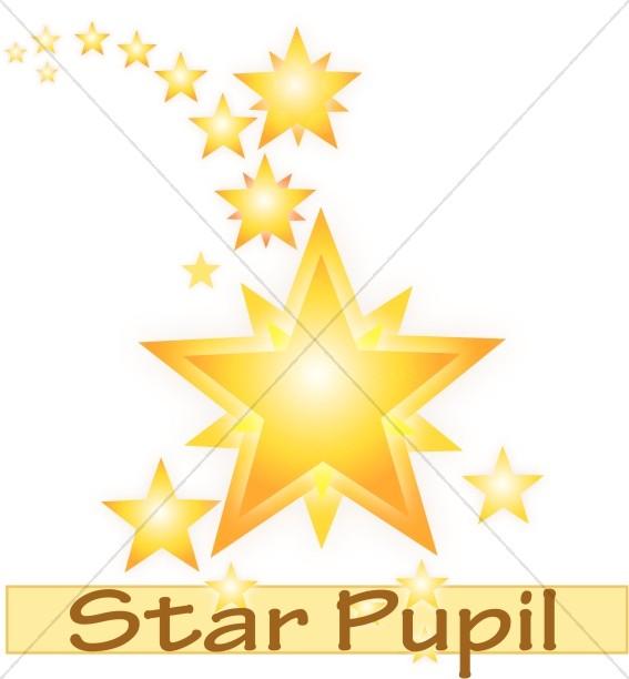 Star Pupil | Childrens Church Clipart
