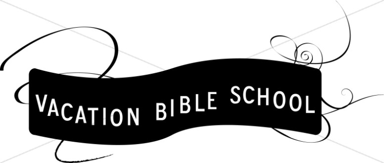 Black and White VBS Banner