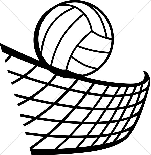 volleyball in black and white youth program clipart rh sharefaith com net clipart net climate neutrality