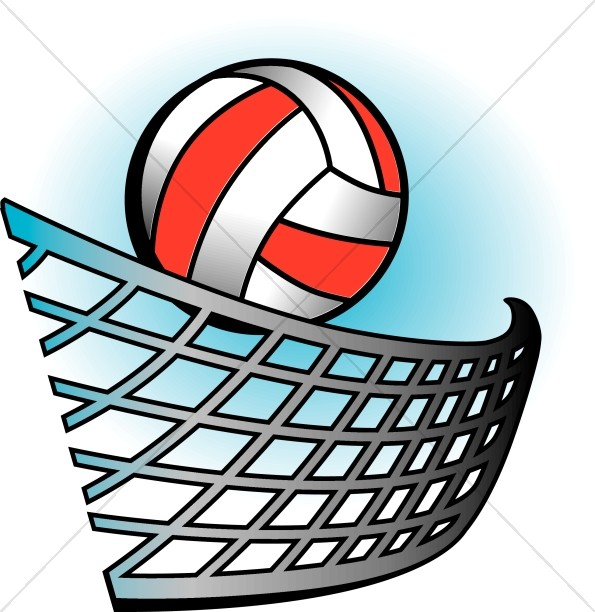 volleyball in color youth program clipart rh sharefaith com volleyball clip art images free volleyball clip art images free