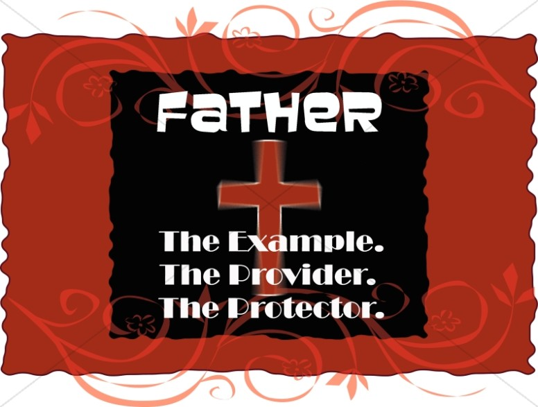 Father as Example and Provider