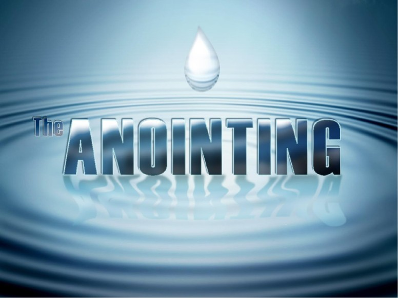 The Anointing with Water