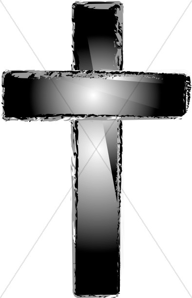 Cross in Shades of Gray