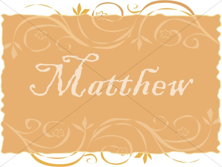 Matthew in a Frame