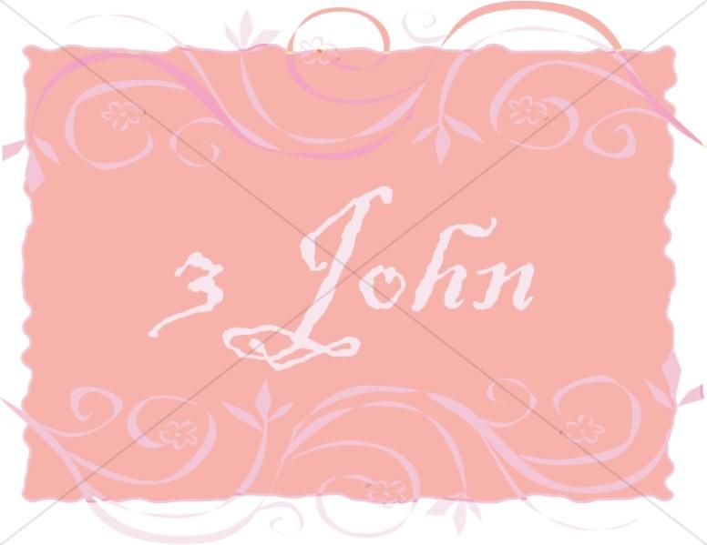3 John in a Frame