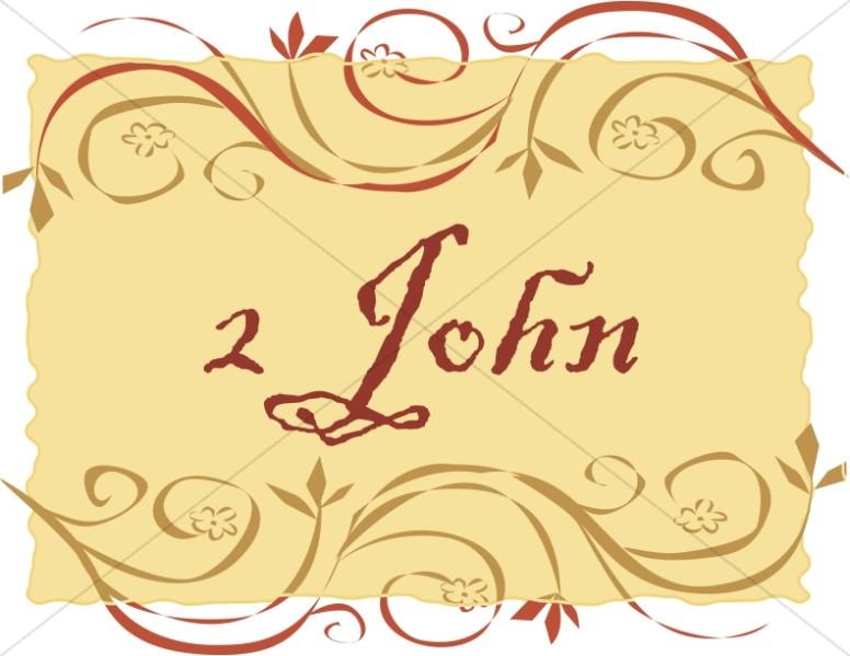 2 John in a Frame