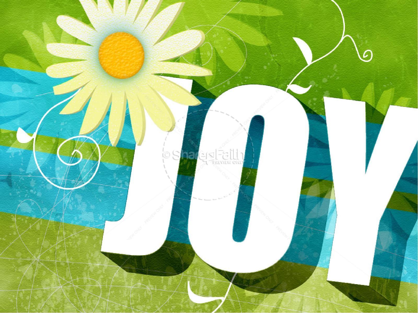 Joy with a Daisy | slide 1