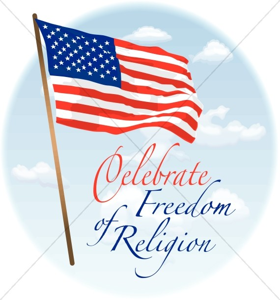 American Flag and Freedom of Religion
