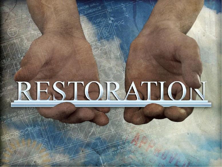 Restoration Christian PowerPoints