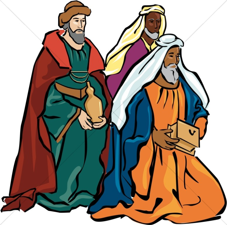 magi clipart nativity clipart rh sharefaith com Three Wise Men Drawing Wise Men Clip Art of in the Bible