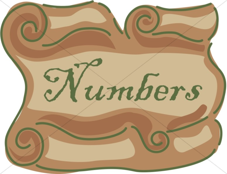 Numbers Scroll