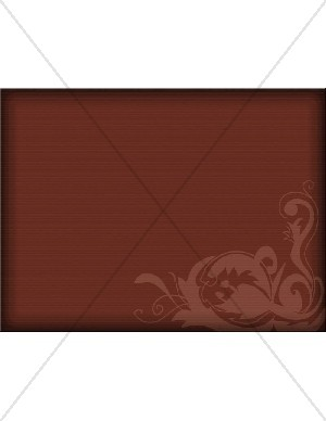 Graphic Swirls on Deep Red Background