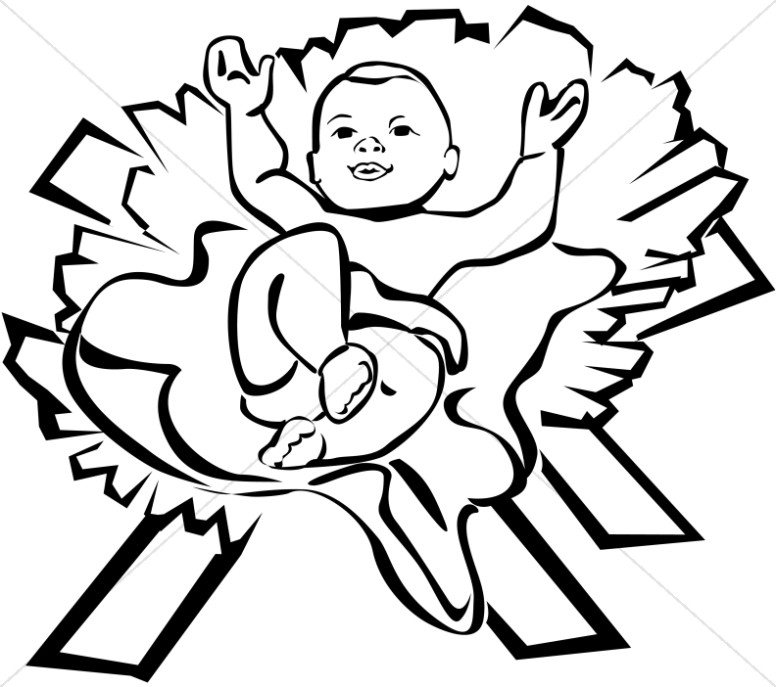 Baby Jesus Clipart Baby Jesus Graphics Baby Jesus Images Sharefaith