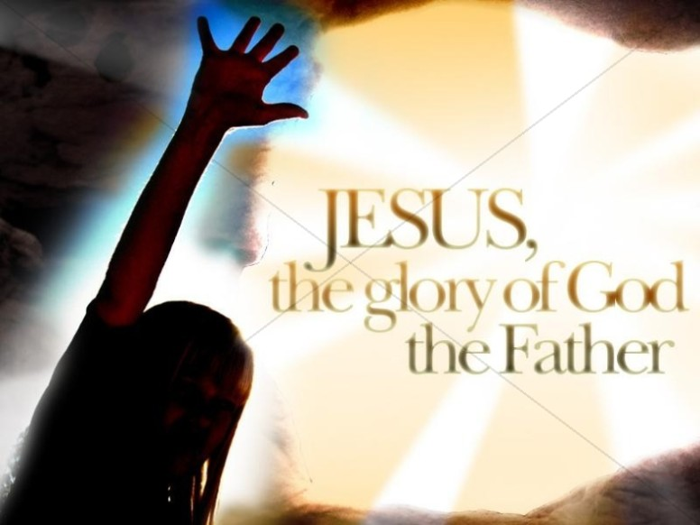 Jesus the Glory of God Photo