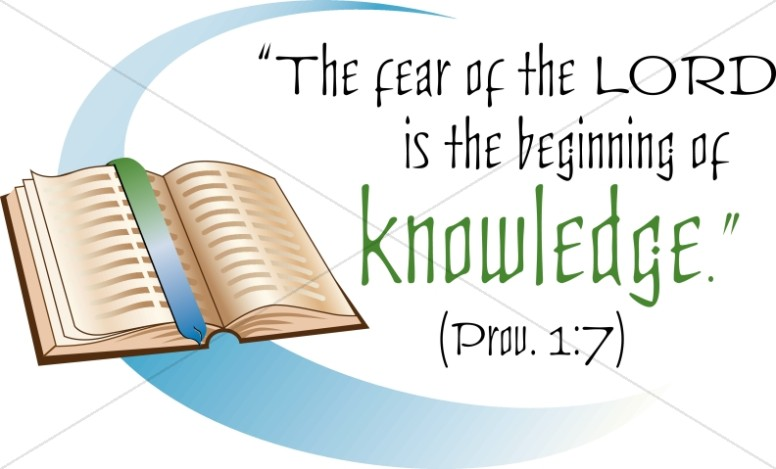 Bible and the Beginning of Knowledge