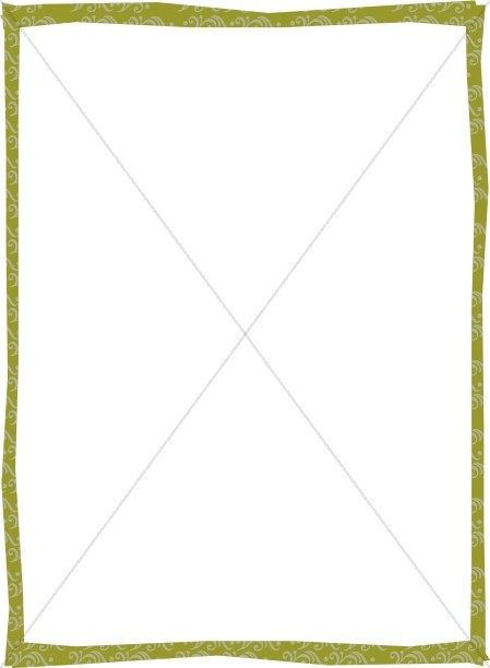 Decorative Green Border