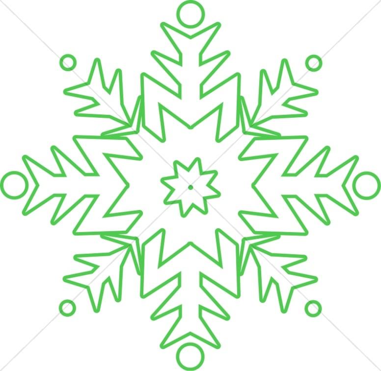Circular Green Clipart