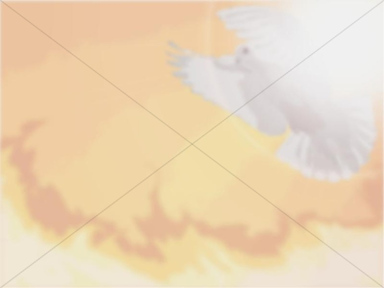 Faded Dove and Fire Photo Background