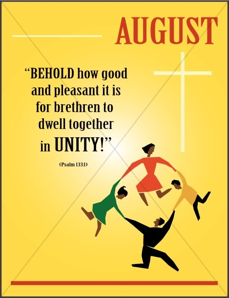 August Church Bulletin Cover