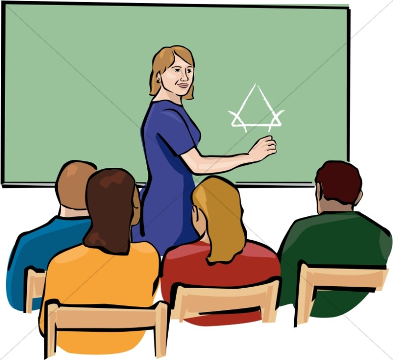 teacher clipart in color christian classroom clipart rh sharefaith com students in classroom clipart students working in classroom clipart