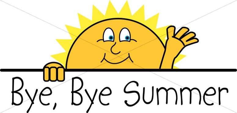 Happy Sun Says Bye to Summer