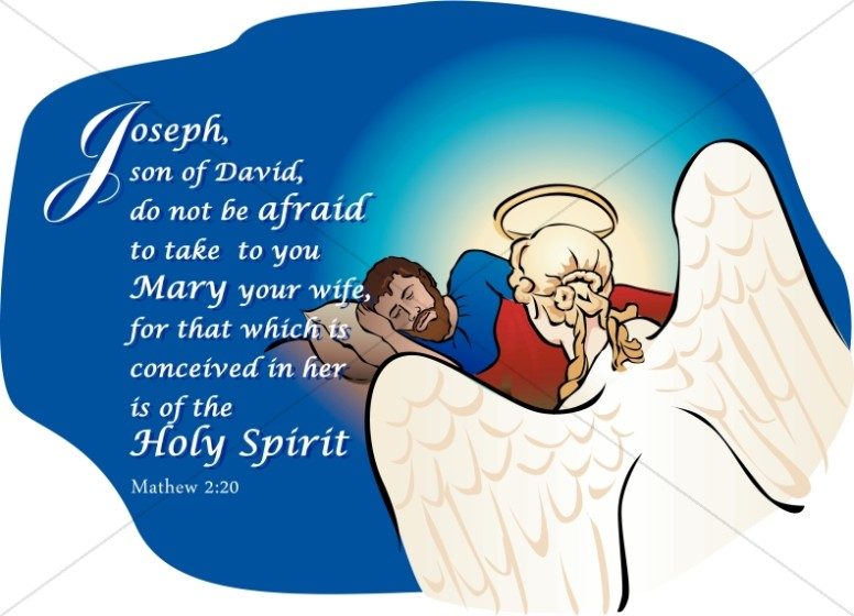 Angel Speaks to Joseph in a Dream