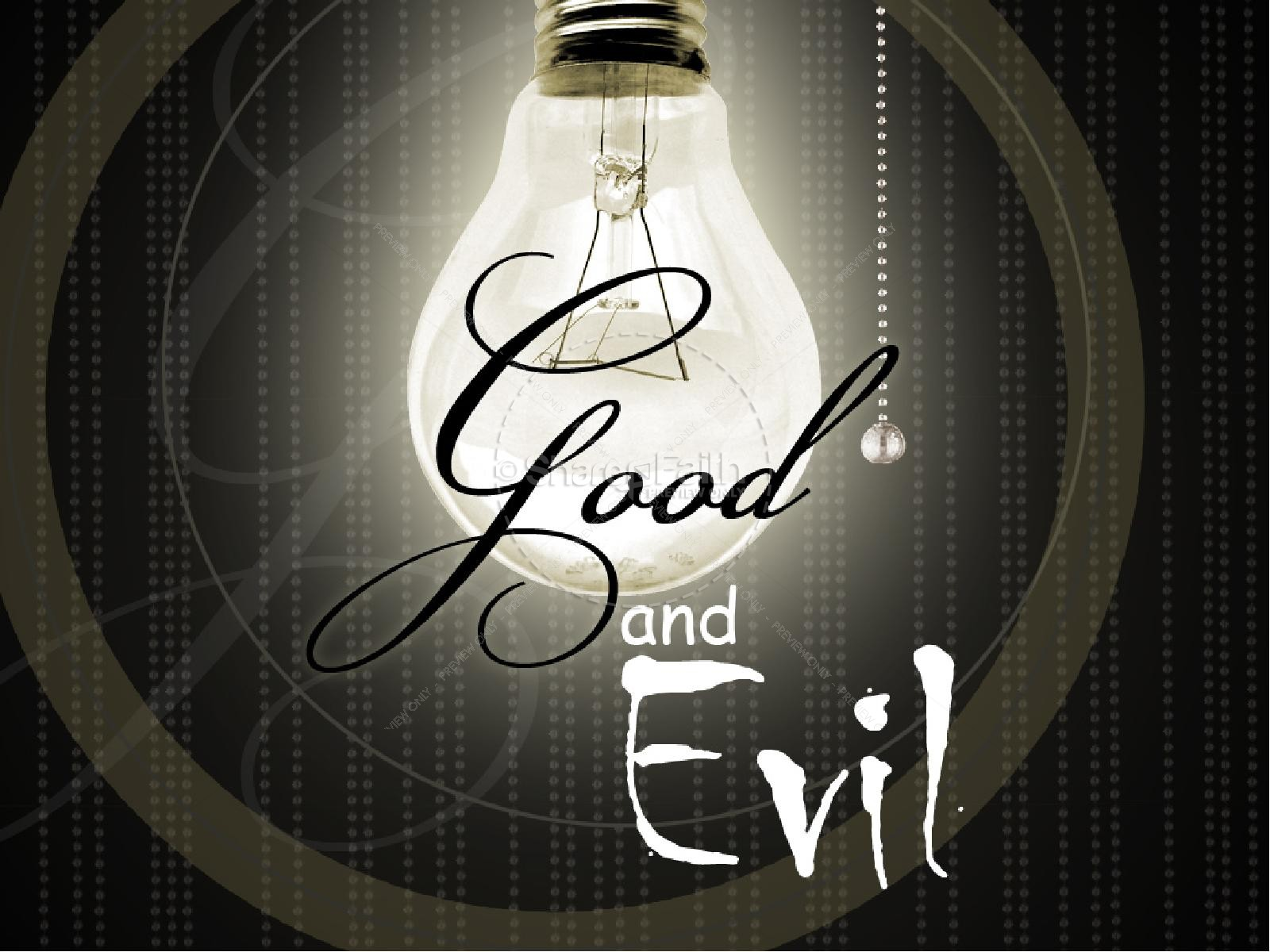 Good and Evil PowerPoint Set