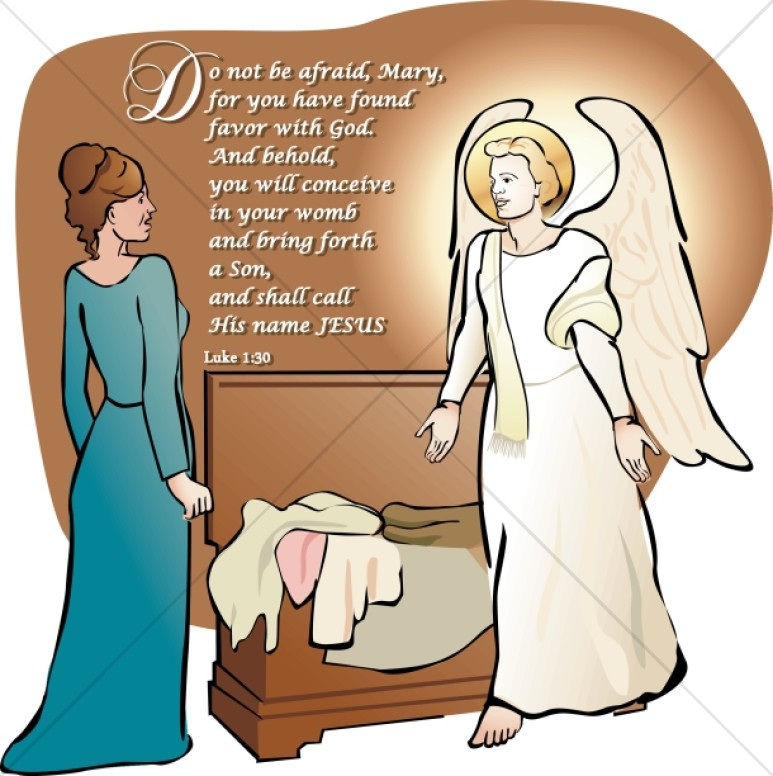 Mary Listens to the Angel Gabriel