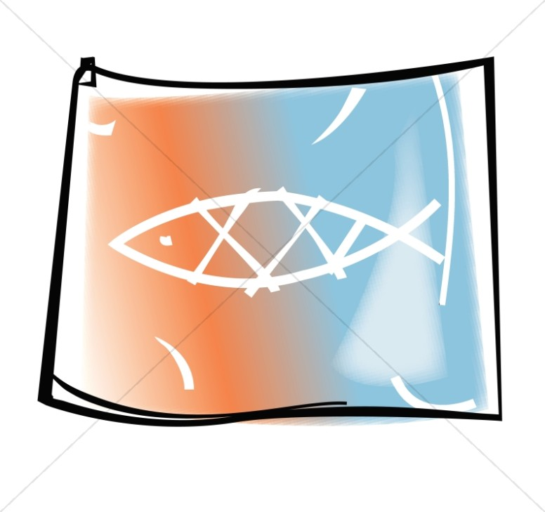 Christian Fish Symbol Clipart