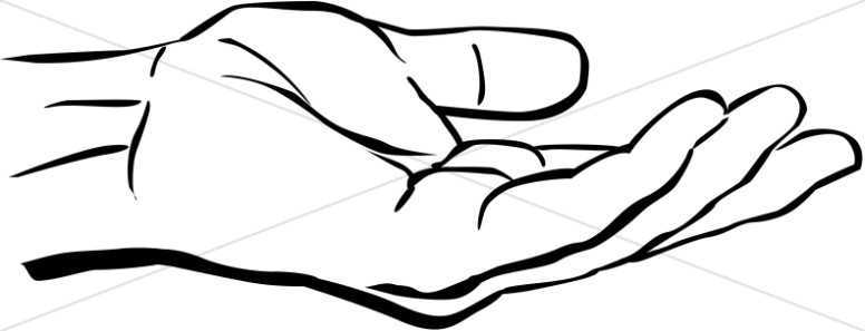 outstretched hand clipart inspirational clipart rh sharefaith com hand clipart png hand clipart black and white