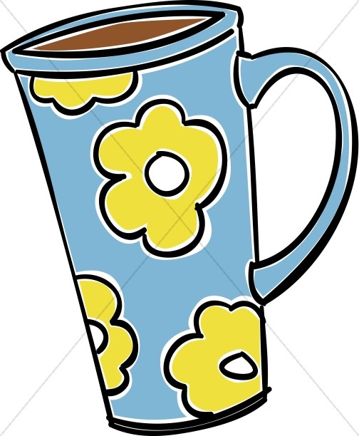 Tall Coffee Mug Clipart