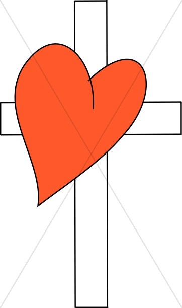 Red Heart and Cross