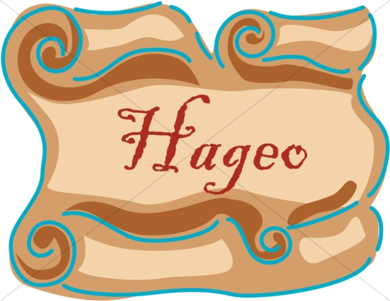 Spanish Title of Hageo