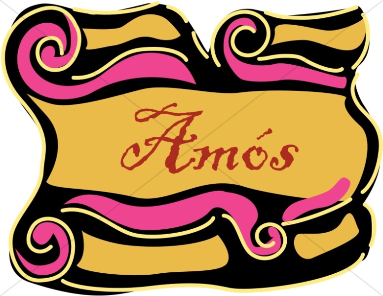 Spanish Title of Amos