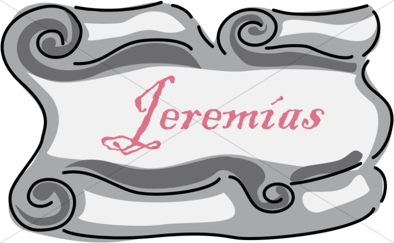 Spanish Title of Jeremias