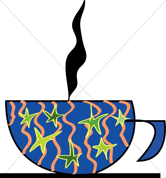 Coffee Mug with Heat Rising