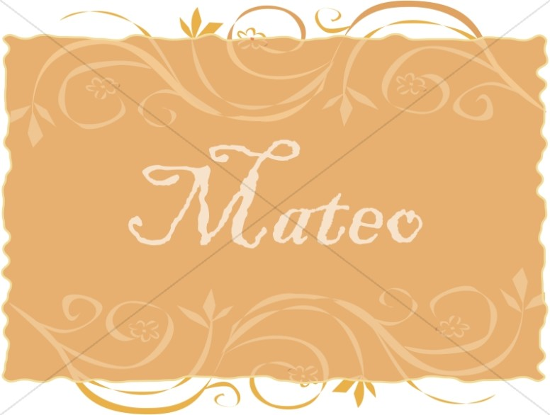 Spanish Title of Mateo