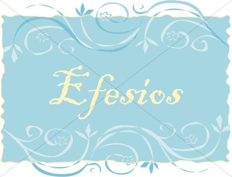 Spanish Title of Efesios
