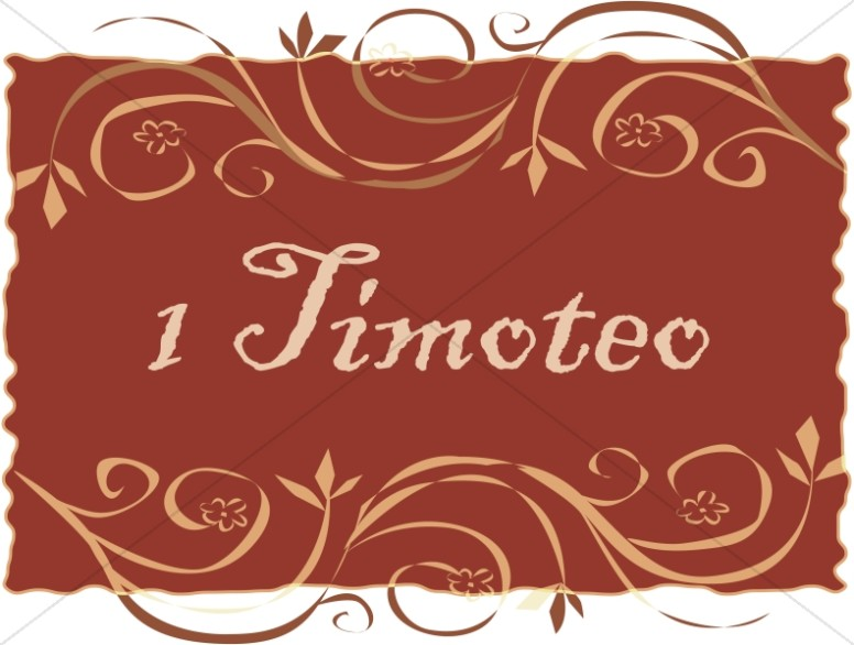Spanish Title of 1 Timoteo